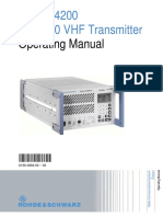 Tx R&S SU4200_Operating_Manual
