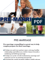 pre marriage