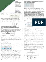 electromagnatic induction worksheet