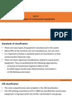 3. Classification of Construction Equipment