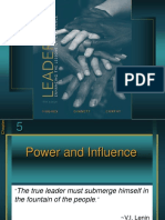 Leadership , power, influence
