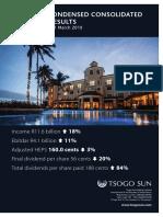 Tsogo Sun Gaming Ltd_Annual-results