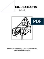 Recueil de Chants 2016 (1)