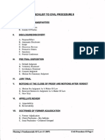 Civil Procedure II Outline