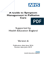 nhs symptom paliatif