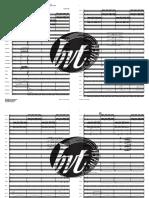 Sång till Norden BRA - Full Score 2page short watermerk