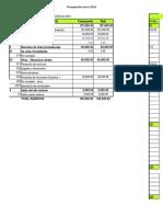 Máster Actividad Presupuestos y Finanzas
