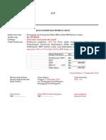 1. Kuitansi Belanja Barang (PPh 22)