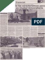 Arequipa tiene las características para convertirse en ciudad universitaria