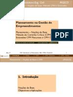 Curso_Planeamento_CPM e extensões_ISEP
