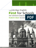 FCE for schools exam SB units 1 to 3