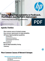 HP Router Enablement Basic 3 - High Availability Overview TTP v6