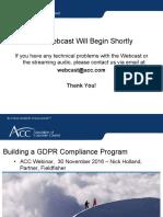 Building_A_GDPR_Compliance_Program_Webinar_ACC