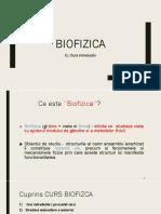 C1 Biofizica