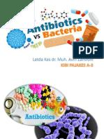 Bacterial resistance english speech