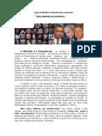 2x Artigo Psicologia Da Mentira e Expressões Corporais