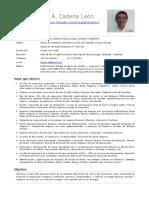 CV Martin Cadena Español 12-2019