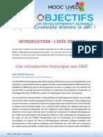 MOOC UVED ODD S0 Transcription Introduction