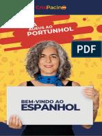 GUIA Diga Adeus ao Portunhol, Cris Pacino Espanhol