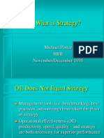 Porter - What is Strategy -  HBR.ppt