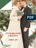 Un Mariaj de Crăciun de Anne K. Joy (Magia Crăciunului #7) (Primele Trei Capitole Gratuit)