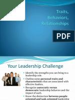 2017 Lead 2 traits, behavior, relationship