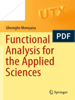 Moroşanu G. - Functional Analysis for the Applied Sciences-Springer (2020)