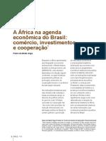 VEIGA, P. M. A África na agenda econômica do Brasil
