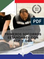 Guía para el Alumno de Primeros Socorros Estándares con RCP y DEA - BAJA