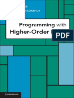 Cambridge University Press - Programming With Higher Oder Logic 2012