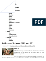 Difference Between AHB and AXI _ Difference Between