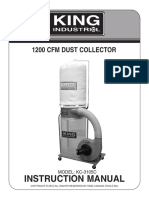 King Dust Collector KC-3105C manual-eng