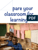 1. Prepare your classroom for learning