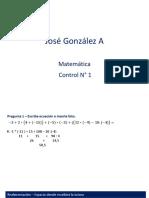 Nivelacion Matematicas Control 1