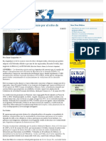 Escrache a Federico Gómez, estafador del derecho a la verdad en la megacausa ESMA, Contrapunto, 29-5-2010