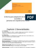 Norma COVENIN para adaptacion de edificaciones accesibles