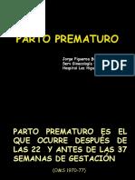 PARTO PREMATURO dr figueroa