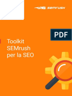 Toolkit semrush per la seo