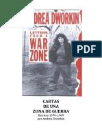 Andrea Dworkin - Cartas de una zona de guerra