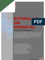 Psicoprofilaxis - Proyecto de Investigacion-estimulacion Prenatal[1]