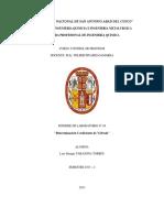 LABORATORIO DE CONTROL DE PROCESOS- Coeficiente de una válvula