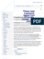 Learn From Hope - Crowd Sourcing Wikipedia