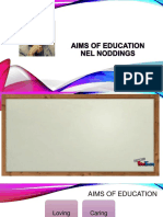 AIMS OF EDUCATION (1) M3