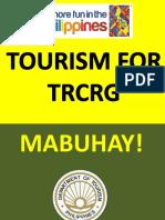 3 TRCRG Tourism Overview.ppt