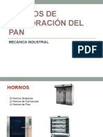 EQUIPOS DE ELABORACIÓN DEL PAN