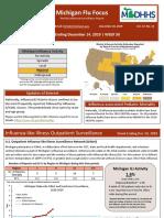 Michigan Flu Focus