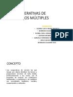 COOPERATIVAS MULTIPLES