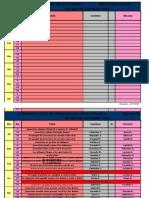 Calendario Asignaciones Primaria  2010