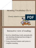 meaning vocabulary ch. 6