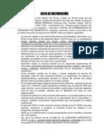 ACTA DE INSTRUCCION N1 COMISARIA BARBOCNTIOOS